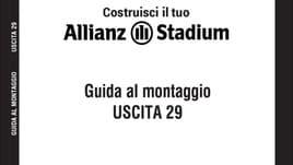 Il primo modellino ufficiale dell' Allianz Stadium - 29