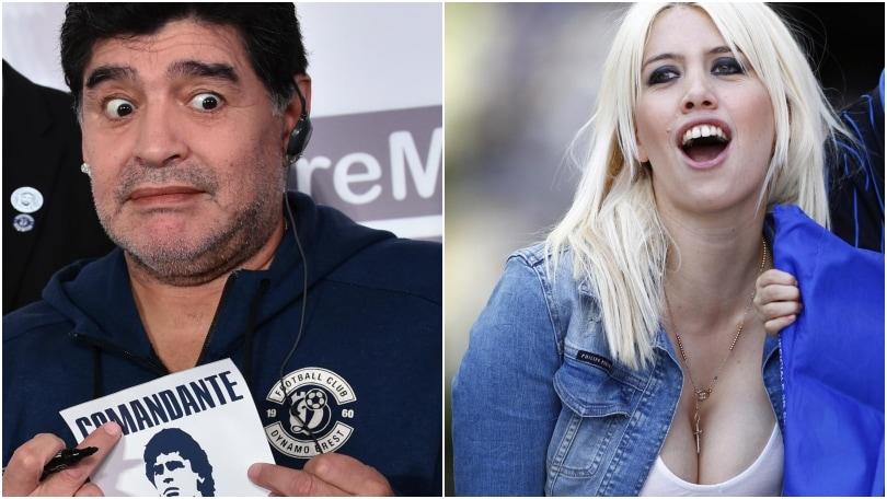 «Quella notte in cui Maradona e Wanda Nara non mi fecero dormire»