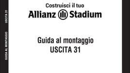 Il primo modellino ufficiale dell' Allianz Stadium - 31