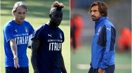 Italia, Mancini sicuro:«Torneremo grandi con Pirlo e Balotelli»