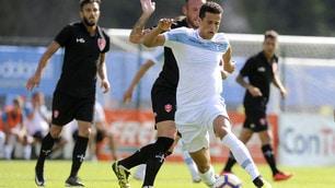 Lazio, tre gol alla Triestina ad Auronzo di Cadore