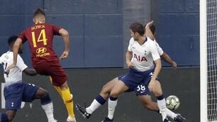 Roma: Schick ancora a segno, ma il Tottenham ne fa 4