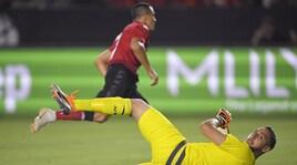 Icc, Milan ko ai rigori con il Manchester United
