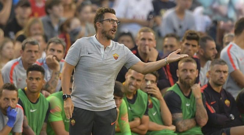 Roma ko col Tottenham, Di Francesco: «Ci serva da lezione»
