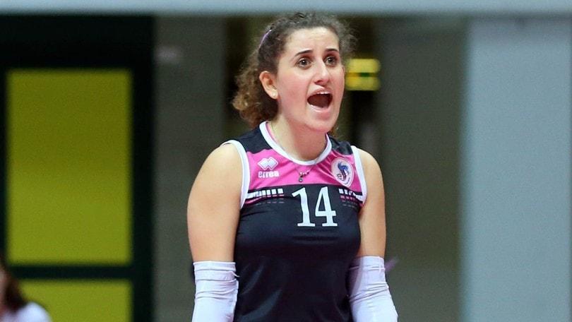 Volley: A1 Femminile, Giorgia Caforio da Cuneo a Chieri