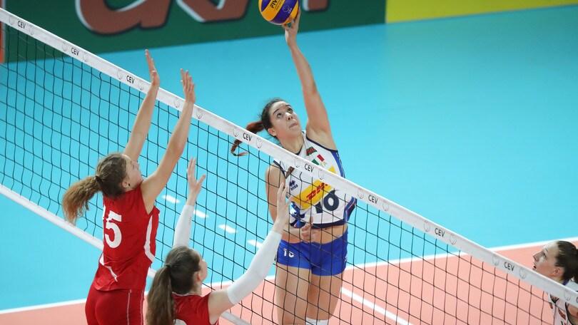 Volley: l'Under 19 femminile cede ancora alla Slovenia