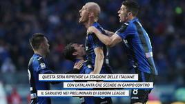 Inizia la stagione, Atalanta in campo!