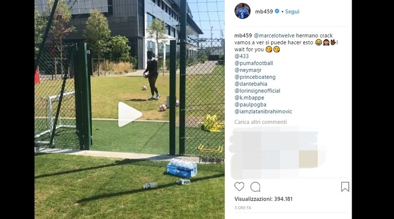 Feeling azzurro: Balotelli prende in giro Insigne
