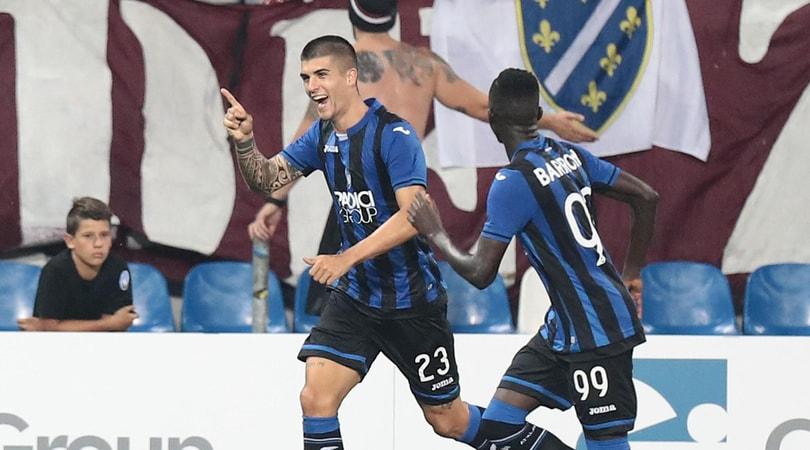 Europa League, Atalanta-Sarajevo 2-2: Toloi e Mancini rimontati