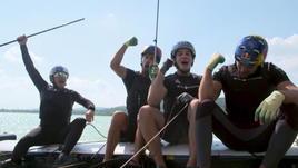 Ricciardo e Verstappen sfrecciano anche in barca!