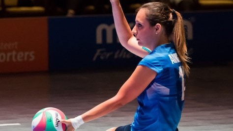 Giulia Aringhieri: «È solo l'inizio!»