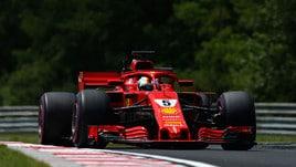 F1 Ungheria, Libere 2: Vettel doma le due Red Bull