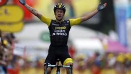 Tour de France, Roglic attacca e vince la 19ª tappa