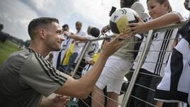 """La Juventus si allena davanti ai tifosi """"americani"""""""