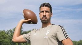 La Juventus gioca a football americano