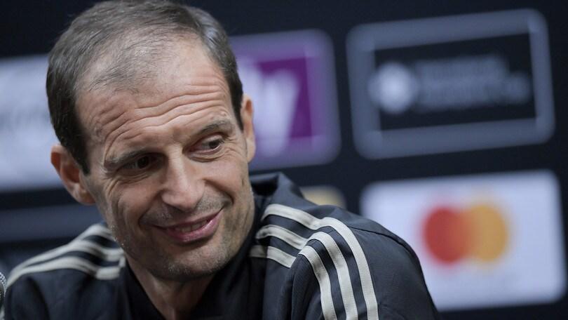 Juventus, Allegri: «Cristiano Ronaldo? Vedo troppa eccitazione»