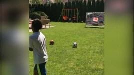 In attesa dell'Inter, Vidal sfida suo figlio