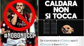 #Caldaranonsitocca e #NoBonucci: rivolta social dei tifosi della Juventus