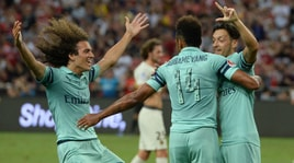 ICC, la vendetta di Emery: Arsenal-Psg 5-1