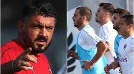 Milan, Bonucci guida il gruppo in allenamento. Ma per quanto ancora?