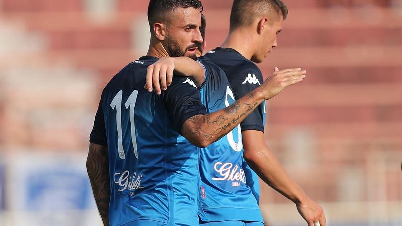 Spezia-Empoli 2-2: Caputo non basta