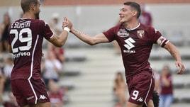 Torino-Nizza 1-0: Belotti piega i francesi