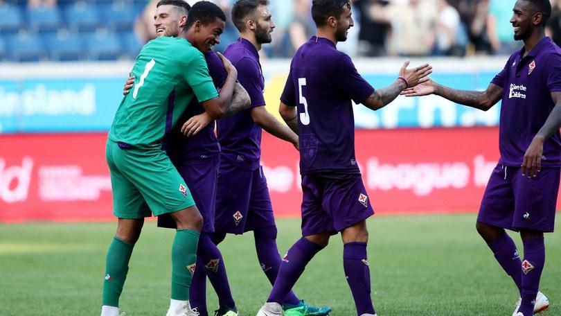 La Fiorentina vince la Cup of Traditions