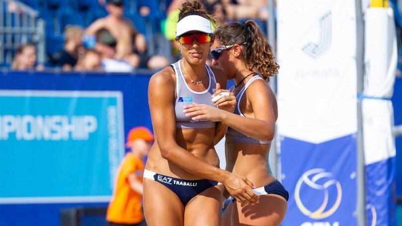 Beach Volley: Europei Under 22, Traballi-Puccinelli sono in semifinale