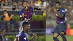 Barcellona, Malcom show: rigore decisivo con il Tottenham