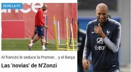 In Spagna spaventano la Roma:«Su Nzonzi anche Juventus, Barcellona e Arsenal»