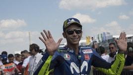 MotoGp Brno, Rossi: «Competitivi nel giro secco con le gomme nuove»