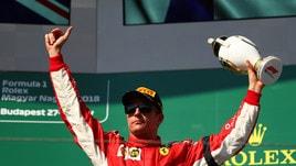 F1 Ungheria, Raikkonen: «Potevamo fare di più»