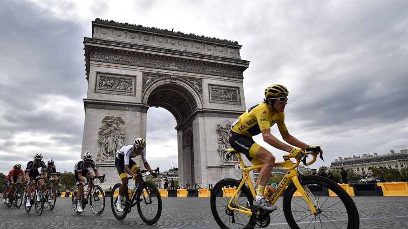 Tour de France, Thomas in trionfo a Parigi. A Kristoff l'ultima tappa