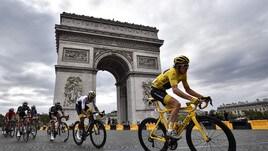 Tour de France, Thomas in trionfo a Parigi. A Kristoff l'ultima tappa