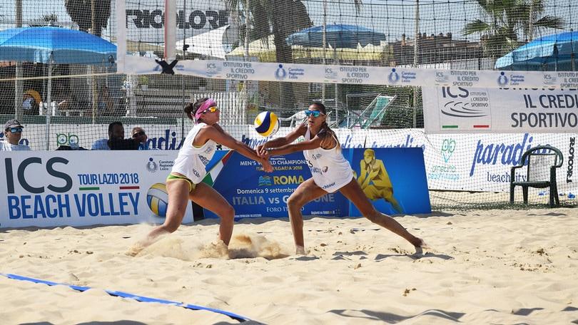 Beach Volley: Tour Lazio, a Ostia vincono Manni-Bonifazi e Stacchiotti-Langellotti