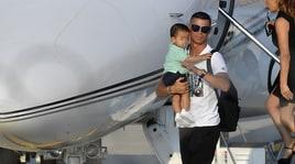 Juventus, Cristiano Ronaldo è a Torino