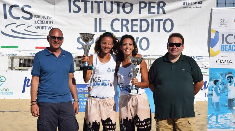 ICS Beach Volley Tour Lazio, a Ostia trionfo di Manni-Bonifazi e Stacchiotti-Langellotti