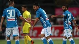 Napoli-Chievo, le foto del match