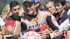 MotoGp Honda, Marquez: «I nostri avversari sono Rossi e Vinales»