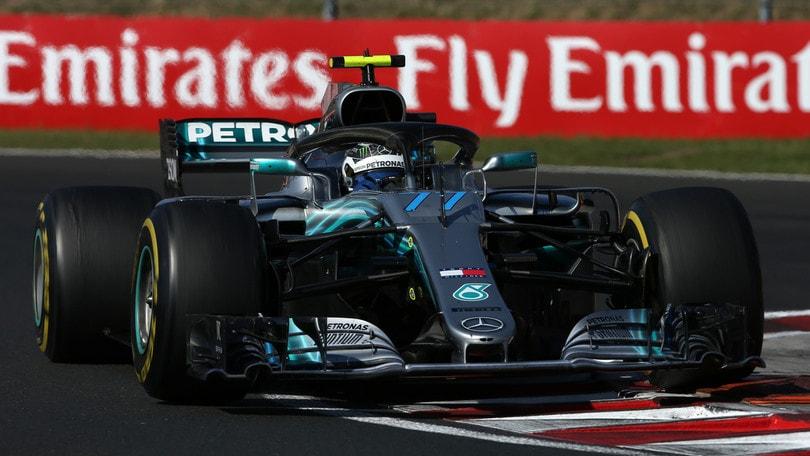 F1 Ungheria, Bottas: «Peccato essere finito in quinta posizione»