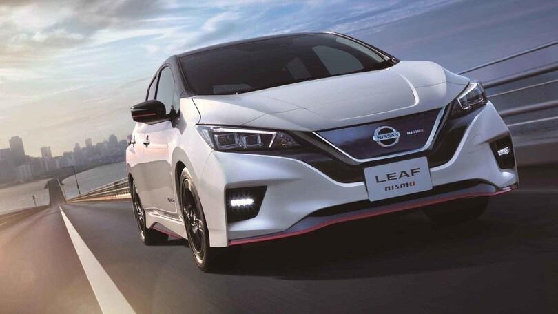 Nissan Leaf Nismo: ecco l'elettrica da corsa