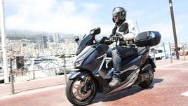 Honda Forza 300: la prova su strada