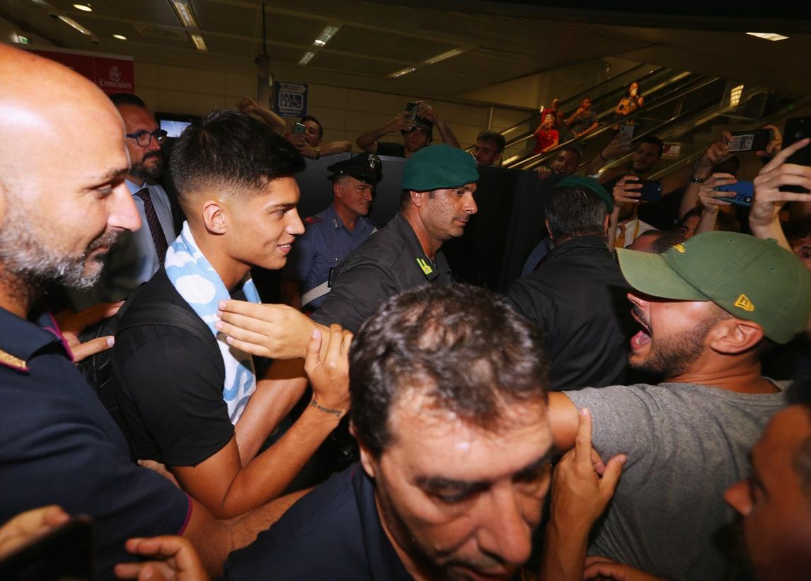 Lazio, ecco Correa: oggi visite mediche e firma