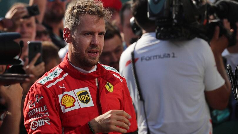 F1 Ferrari, Vettel: «Non guardo Schumacher, ma voglio aiutare la squadra a vincere»