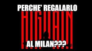 Higuain, protesta dei tifosi della Juve: «Perché al Milan?»