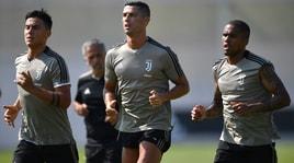 Juventus, Cristiano Ronaldo: «Primo allenamento duro. Lavoro fatto!»