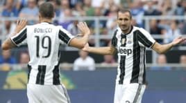 Juventus, Chiellini:«Bonucci un amico, ma non so se tornerà. Serviva un campione come Ronaldo»