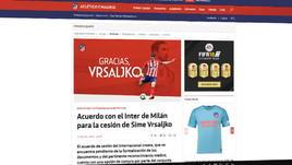Inter-Vrsaljko, è ufficiale