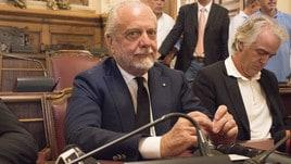 Bari, la conferenza stampa di De Laurentiis