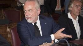 Napoli, De Laurentiis: «Non arriveranno altri attaccanti»